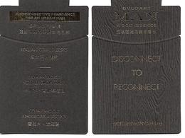 BULGARI Wood Essence (Asie) - Cartes Parfumées