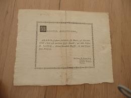 Diplôme En Latin D.Gasq Arts Libres 30/12/1766 Paris Manuscrit Médecine Au Dos Restauré - Diplômes & Bulletins Scolaires