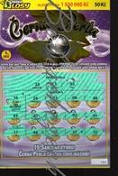 8-1238 CZECH REPUBLIC -2018 Cerna Perla /  Black Pearl  A Scratchcard A Scratch Off, Scratch Ticket Cca 15x10,5cm - Lotterielose