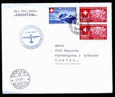 A5815) Schweiz Flugpostbrief Pro Aero Zürich 06.05.39 - Briefe U. Dokumente