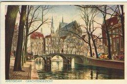 Amsterdam - Grachtengezicht. Netherlands. Sent To Denmark 1951. S-4695 - Amsterdam