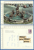 MC67 SIRACUSA FONTANA DIANA Piazza ARCHIMEDE  ARCHIMEDE SQUARE , FISH , WOMAN MERMAID , HORSE Fountain  1969 - Siracusa