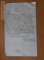 ZA176.21 Old Document Czechia Přepeře (Mladá Boleslav) - Stastneho - Brodske - Novak - 1870 - Naissance & Baptême