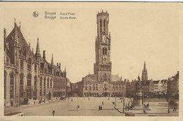 Brugge Groote Markt - Grand Place. Belgium S-4697 - Brugge