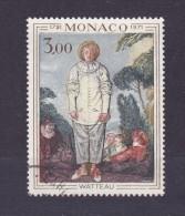 TIMBRE MONACO OBLITERE 878 - Gebraucht