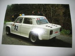 PHOTO SIMCA 1000 RALLYE 2  14,5x9,5 Course De Cote - Cars