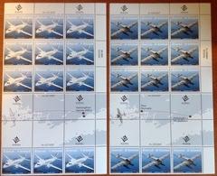 Aland 2007 Air Mail Transport Aircraft Sheetlets MNH - Aland