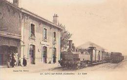 Calvados        1631        Luc Sur Mer.La Gare ( Train ) - Luc Sur Mer