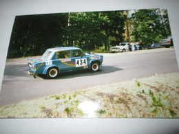 PHOTO SIMCA 1000 RALLYE 2  14,5x9,5 Course De Cote Chatel Guyon  89 - Cars
