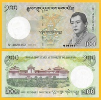 Bhutan 100 Ngultrum P-32c 2015 UNC Banknote - Bhutan
