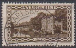 Saarland 1926 MiNr.113 O Gest.Landschaftsbilder Kaserne Saarlouis ( 8597 ) Günstige Versandkosten - Used Stamps