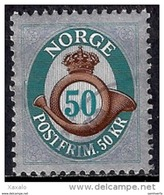 Norway 2011 - Definitive Stamp - Post Horn - Noruega