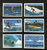 S 311 ++ ARUBA 2018 WATERSPORT SURFING MNH VERY FINE - Curaçao, Nederlandse Antillen, Aruba