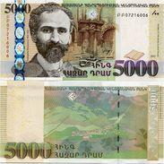 ARMENIA       5000 Dram       P-56       2012       UNC - Arménie