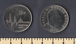 Norway 20 Krone 2016 - Norvège