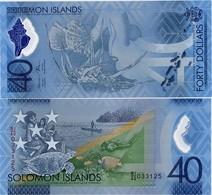 SOLOMON IS.        40 Dollars       Comm.     P-New       ND (2018)       UNC - Isla Salomon