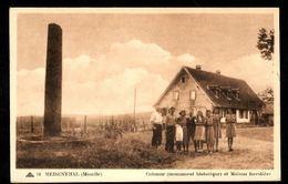 57 - MEISENTHAL (Moselle) - Colonne (Monument Historique) Et Maison Forestière - France