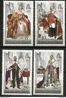 Turks & Caicos - 1978 Coronation Anniversary Set Of 4 MNH **  Sc 342-5 - Turks And Caicos