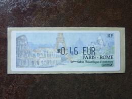 2002 LISA1 SALON PHILATELIQUE D'AUTOMNE PARIS-ROME  0,46€  ** MNH - 1999-2009 Vignettes Illustrées