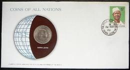 Sierra Leone    Numisletter Coin 20c 1964 + Stamp Michel Nr 552 - Sierra Leone