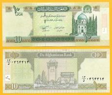 Afghanistan 10 Afghanis P-67Ab 2012 UNC Banknote - Afghanistan