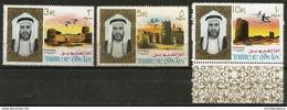 Umm Al-Qiwain - 1964 Wildlife 3 Highest Values MNH **  Sc 16-18 - Umm Al-Qiwain