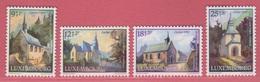 1990 ** (sans Charn., MNH, Postfrisch)  Yv  1209/12Mi  1259/62 - Luxembourg