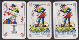 4 Jokers Repiqués à L'occasion De L'Exposition Compétitive Du Hainaut En 1988 à Chapelle Lez Herlaimont - Barajas De Naipe