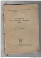 FERDINAND STÖLLER ( 2 Livres ) - 1683 - Neue Quellen Zur Geschichte Des Türkenjahres , 1933 Le Bègue - Hoffmann ? - Boeken, Tijdschriften, Stripverhalen