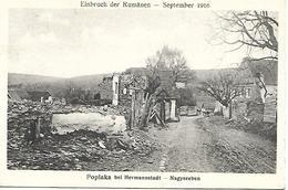 1917 - POPLACA  Okres SIBIU , Gute Zustand, 2 Scan - Rumänien