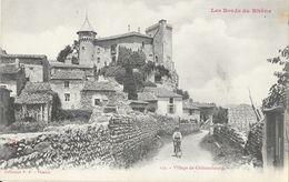 Village De Châteaubourg (Ardèche) Les Bords Du Rhône - Collection P.P. Valence - Carte N° 102, Dos Simple, Non Circulée - Other Municipalities