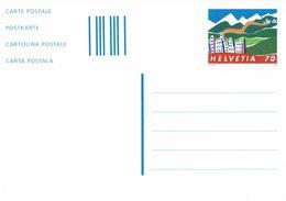 2009 HELVETIA SUISSE ENTIER POSTAL - VACANCES ET TOURISME - Vacaciones & Turismo