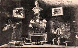La Teste - Mairie De La Teste- Cabinet Du Maire ( Pas Courante ) 1918 - Autres Communes