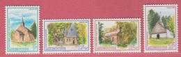 1989 ** (sans Charn., MNH, Postfrisch)  Yv  1182/5Mi  1232/5 - Luxembourg