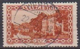 Saarland 1926 MiNr.110 O Gest.Landschaftsbilder Kaserne Saarlouis ( 8612 ) Günstige Versandkosten - Used Stamps