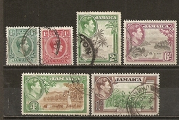 Jamaique Jamaica 1938/46 Vues Views Etc Obl - Jamaica (1962-...)