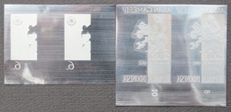 KPI-359- Indonesia 1962. Water Polo 6r. Pair 2. Asian Games Jakarta, Piece Of Printing Plate! Rare!!! - Indonesia