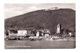 5330 KÖNIGSWINTER, Europäischer Hof, Rheinfähre, 1961 - Koenigswinter