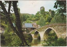 12 Belcastel  Environs De Rignac  Le Pont Domine Par Les Ruines Du Chateau - France