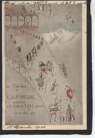 Congrès International De L'Alpinisme à La Cabane Eiffel 1900 - Alpinisme