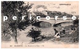 64  Bayonne  Lavandieres Bords De La Nive - Bayonne