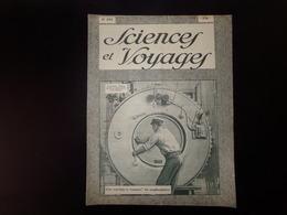 """Revue """" Sciences Et Voyages """" N° 470 Du 30 Août 1928 """" Une Machine à Essayer Les Scaphandriers """" - 1900 - 1949"""