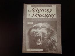 """Revue """" Sciences Et Voyages """" N° 469 Du 23 Août 1928 """" Que Pense Ce Babouin ?  """" - 1900 - 1949"""