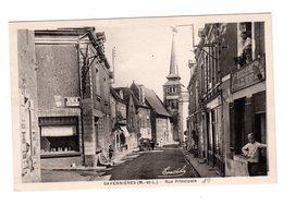 CPA 49 - Savennières ( M Et L ) Rue Principale , Boucherie Gilbert - Autres Communes