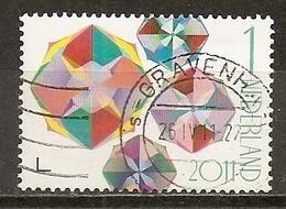 Pays-Bas Netherlands 2011 Weken Van De Kaart Diamonds Obl - Used Stamps