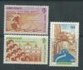 Khmère N° 290 / 92 XX  Sauvez Venise ,  Les 3 Valeurs Sans Charnière, TB - Kampuchea