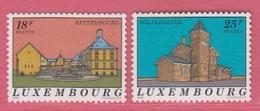 1992 ** (sans Charn., MNH, Postfrisch)  Yv  1241/2Mi  1291/2 - Luxemburg