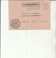 L 3 - Enveloppe  Gendarmerie De L'Air De COGNAC - Cachets Militaires A Partir De 1900 (hors Guerres)