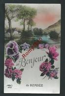 Un Bonjour De Romsée. (Liège-Fléron)  Fleurs, Paysage. - Fléron