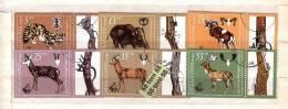 1981 World Hunting Exh.EXPO – Animals 6v.- Used/gest.( O )  BULGARIA /Bulgarie - Animalez De Caza